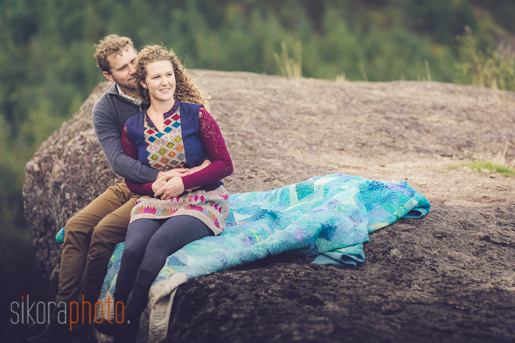 columbia gorge engagement -9