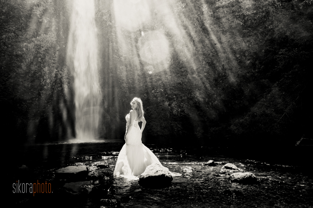columbia gorge water fall trash the dress-10