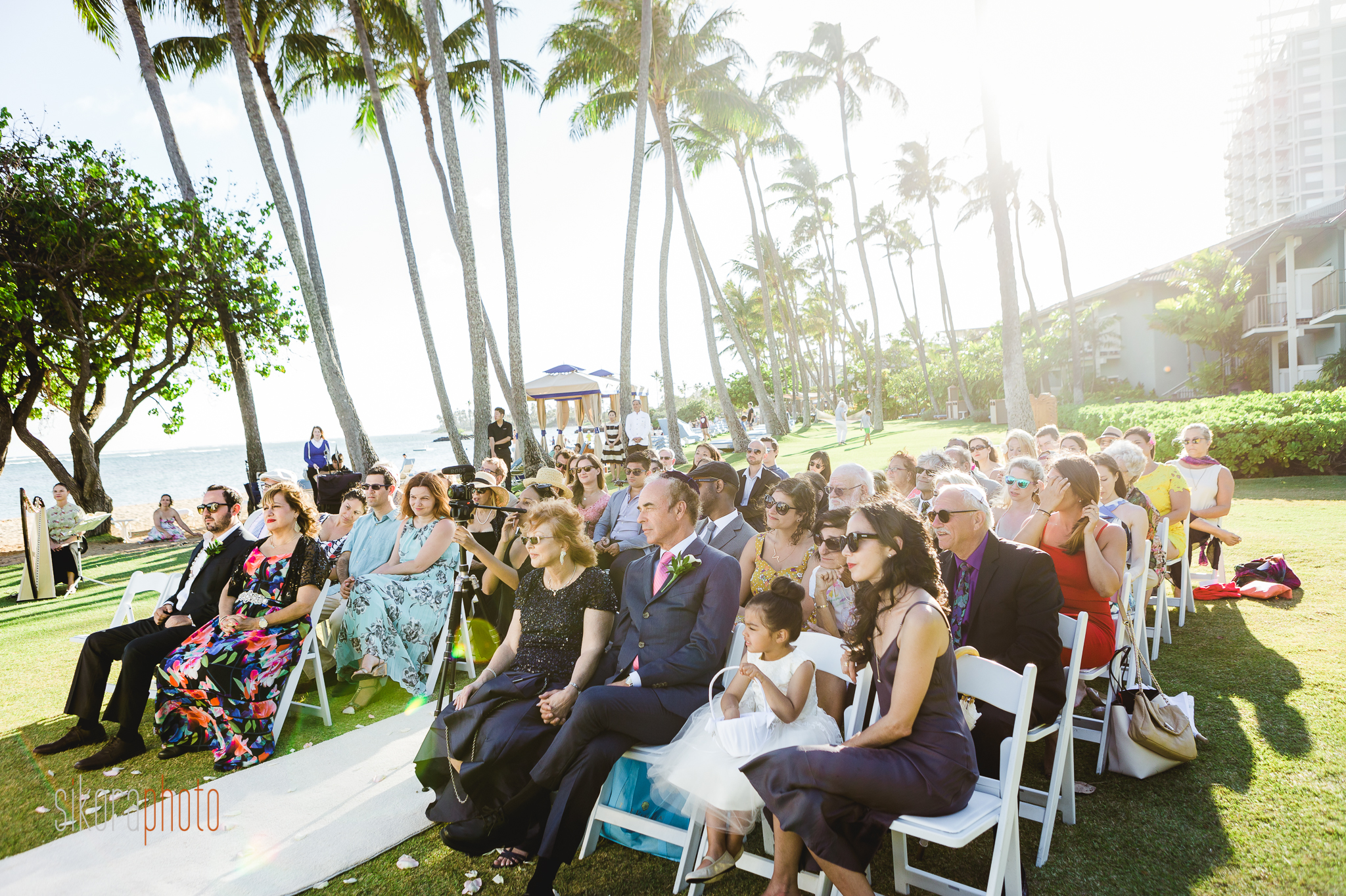 Kahala Resort wedding in Waikiki