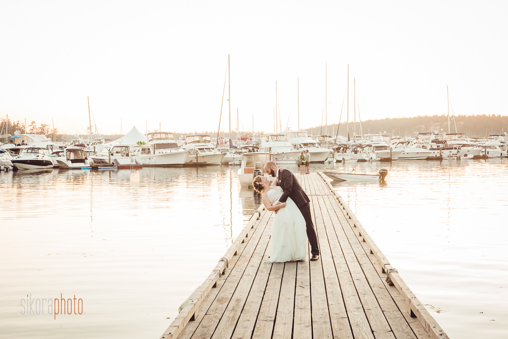 roche harbor resort wedding