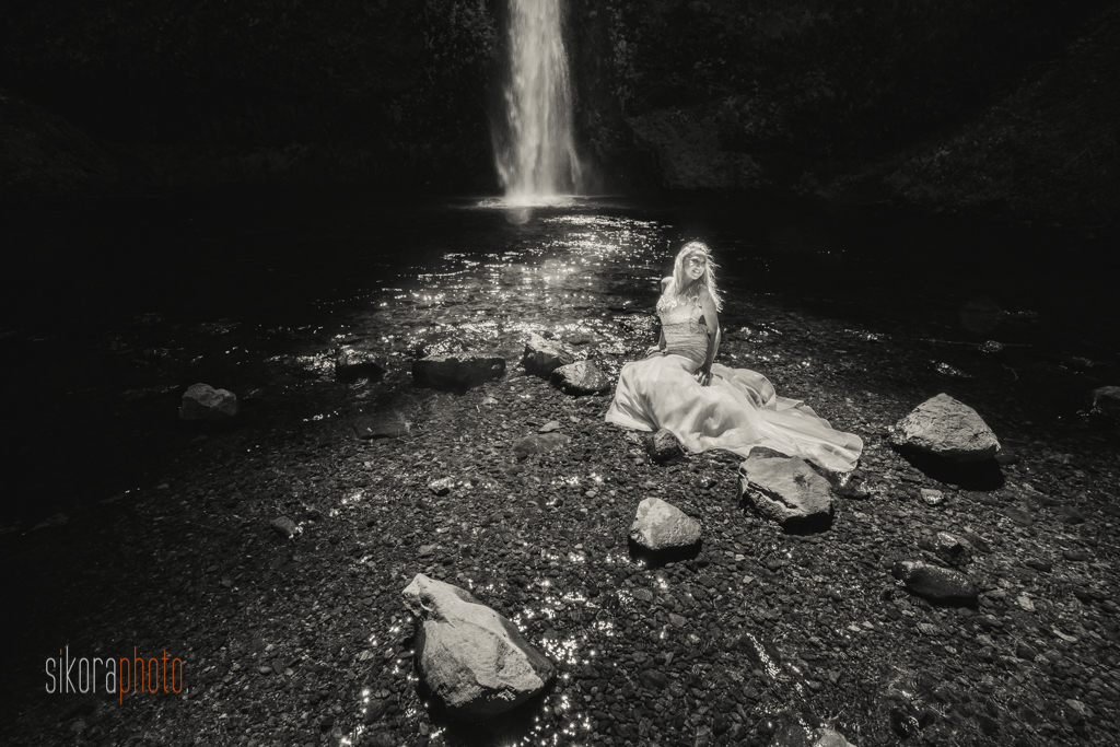 columbia gorge water fall trash the dress-13