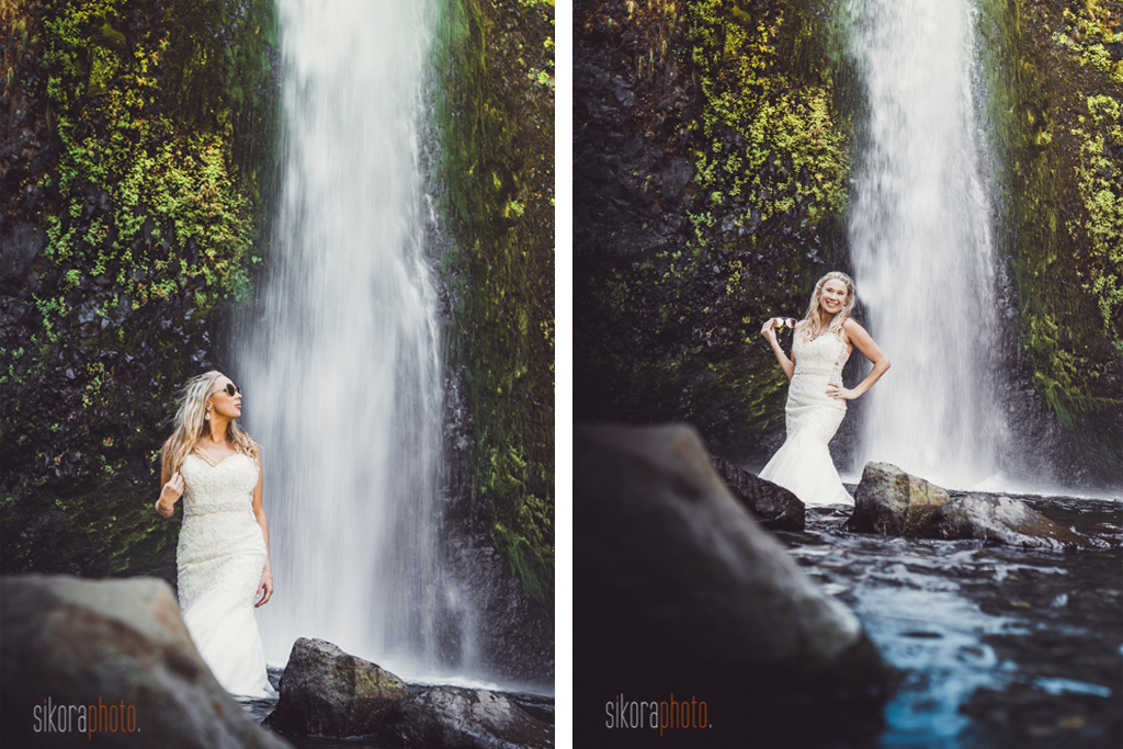 columbia gorge water fall trash the dress-16